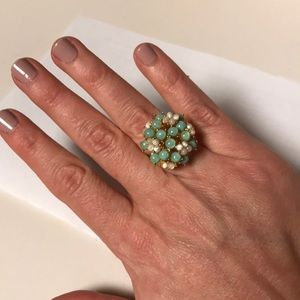 J.Crew costume cocktail ring